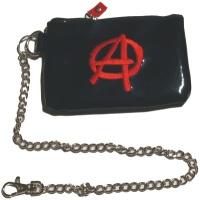 Geldbörse mit Kette Anarchie