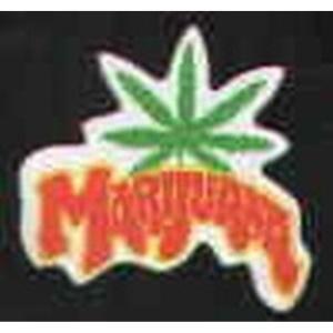 Aufnäher Marijuana