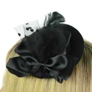 Haarspange Minihütchen