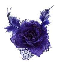 Haarspange Rose
