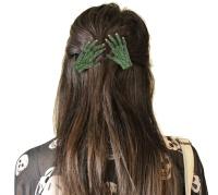 Haarspange Franky Zombiehand