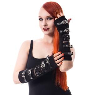 Armstulpen mit Schnallen Riot Poizen Industries