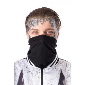 Schaltuch Mund und Nasenschutz schwarz