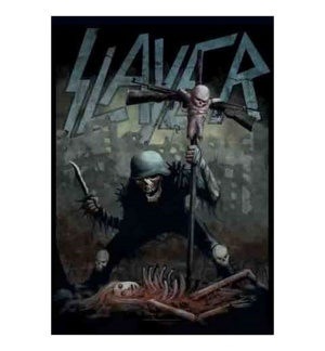 Posterfahne Slayer Dead Baby