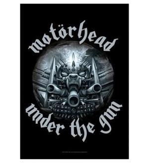 Posterfahne Motörhead under the gun