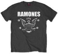 Ramones 1974 Eagle Tshirt