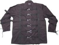 Langarm Männerhemd im Gothicstil