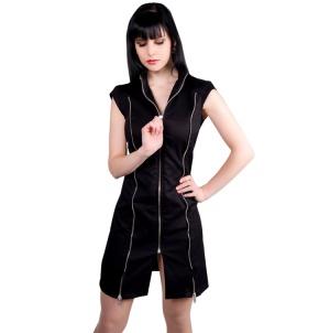 Uniformkleid mit Reißverschlüssen Mini Zip Dress Aderlass
