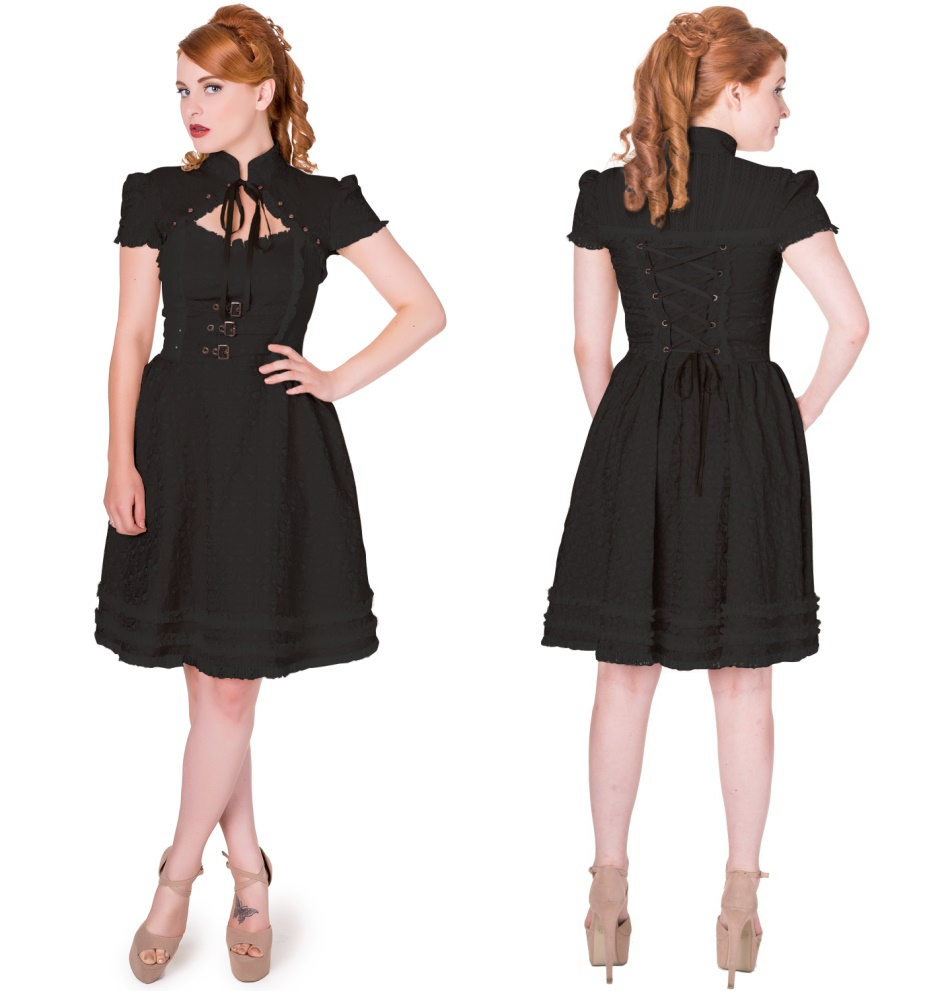 5727905f795fc5 Gothic Kleid Banned in XS - Banned Kleider - Army Shop - Armee ...