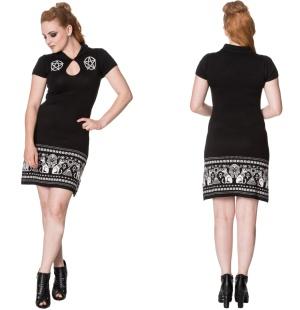 Gothic Strickkleid Banned
