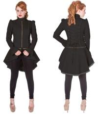 Gothic Jacke Damen Frack Banned