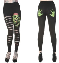 Leggings Skelettthände Neon Alternative Wear/Banned