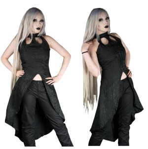 Brokatkleid Dracula Clothing
