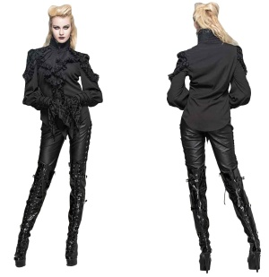 Tabbatha Shirt Gothicbluse Devil Fashion