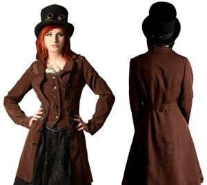 Steampunk Pirate Coat