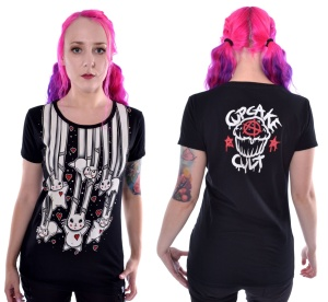 Falling Bunny Tshirt Cupcake Cult