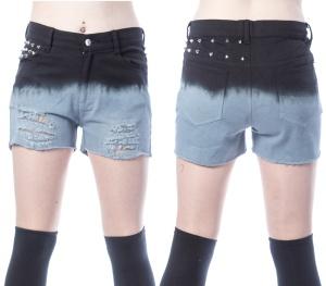 Damen Short mit Nieten