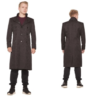 Brokatmantel knielang Versailles Coat H&R London