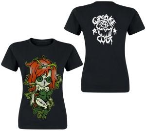 Girl Tshirt Kiss of Death Cupcake Cult