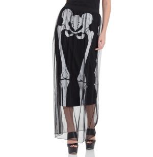 Skeleton Layer Skirt/Rock Skelett Jawbreaker