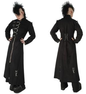 Damenmantel Gothic mit vielen Karabinern Dead Threads