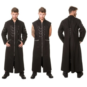 Herren Mantel Gothic Dead Threads
