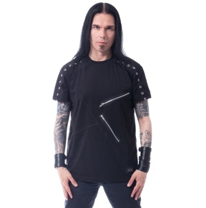 Gothic Tshirt List Top Vixxsin