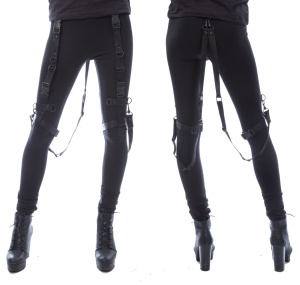 Bondage Leggings Chemical Black