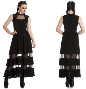 Bellatrix Maxi Dress Gothic Kleid Spin Doctor