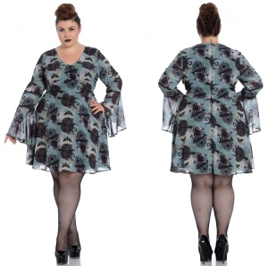 After Death Mini Dress Tunika Spin Doctor Plussize