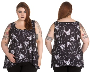 Jas Top/Occult Top Plussize Spin Doctor