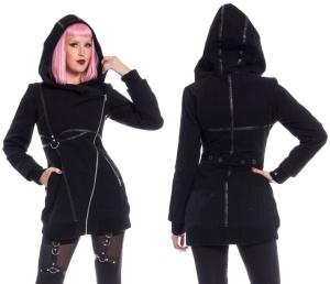 Reaver Jacket Winterjacke im Gothicstil Poizen Industries