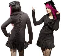 Damen Pullover mit Schalkragen Vixxsin
