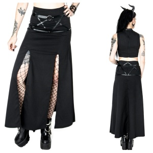 Gothic Rock Villain Skirt Restyle