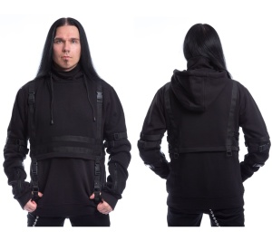 Kapuzensweat Teo Hood Chemical Black