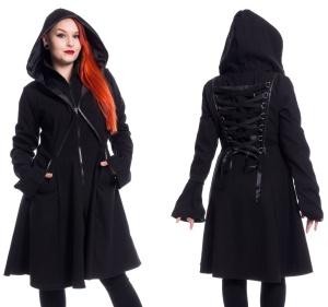 Damenmantel im Gothicstil Twilight Coat Poizen Industries