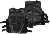 Kunstleder Weste Cyberweste Protector Hard Leather Stuff