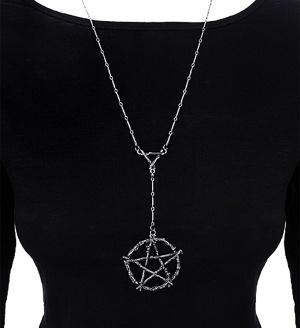 Halskette Pentagramm