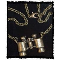 Steampunk Fernglas Kette