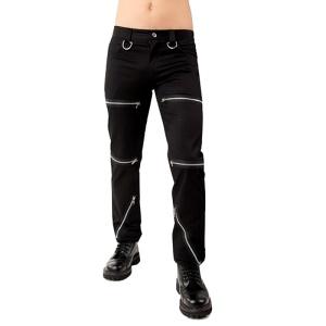 Punk Hose Destroy Pant Black Pilstol