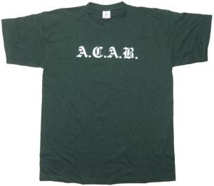 Tshirt A.C.A.B. G24
