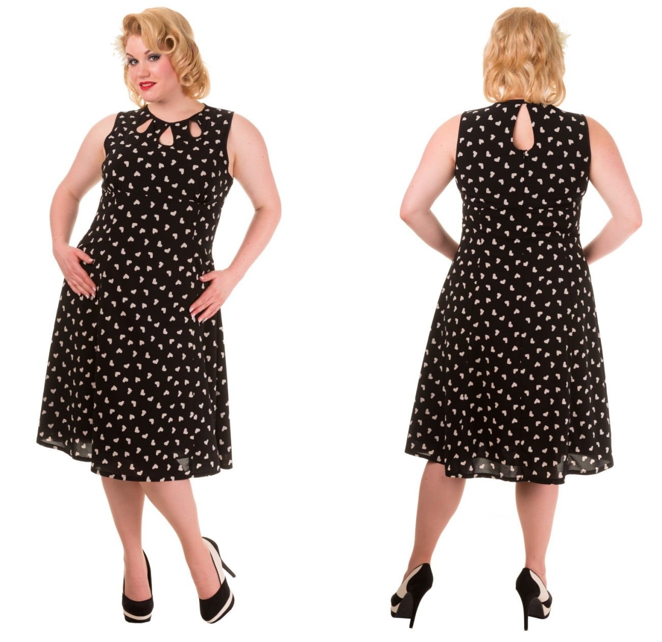 464117500b82 Songbird Dress Rockabilly Kleid Plussize Banned - Banned bei Army Shop -  www.armydepot-chemnitz.de