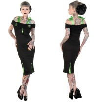 Pencildress/Bleistiftkleid Psychobilly Banned