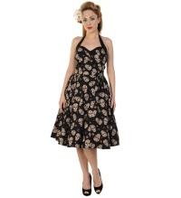 Rockabilly Kleid Totenkopf Banned