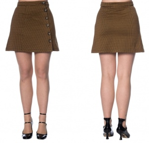 Retro Skirt im Sixties Stil Banned