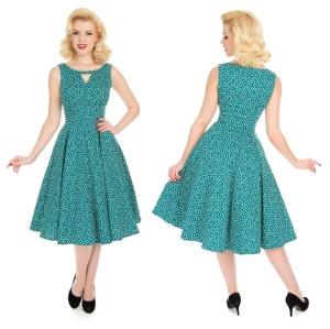 Rock n Roll Kleid La Rosa Dotty Swing Dress