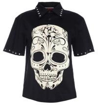 Herren Hemd Totenkopf Jawbreaker
