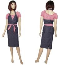 Jeanskleid im Rockabilly Stil Miss Fortune