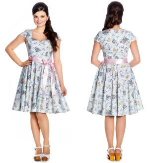 Bunny Dress Rock n Roll Kleid Hellbunny