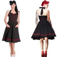 Petticoatkleid/Rock n Roll Kleid Vanity Hellbunny